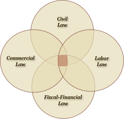 Sketch Practice Areas García Beltrán, Advocats i Economistes